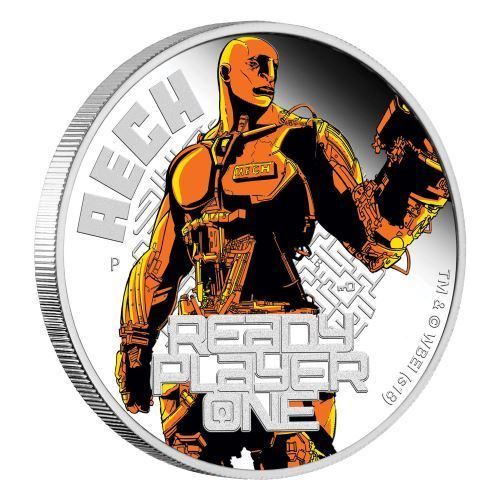 1 $ Dollar Ready Player One - Aech Tuvalu 1 oz Silber PP 2018