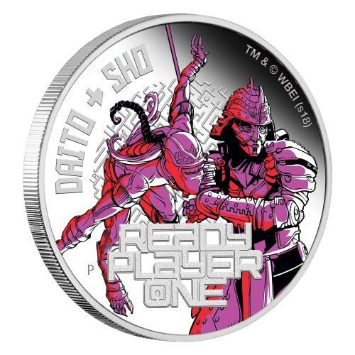 1 $ Dollar Ready Player One - Daito & Sho Tuvalu 1 oz Silber PP 2018