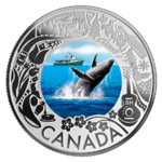 3 $ Dollar Canadian Fun and Festivities - Whale Watching  Kanada 1/4 oz Silber 2019 **