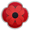 10 $ Dollar Poppy - Mohn - Remembrance Day Kanada Silber PP 2019 **