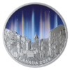20 $ Dollar Sky Wonders - Light Pillars - Lichtsäulen Kanada 1 oz Silber PP 2019 **
