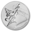 2 $ Dollar Disney Mickey Mouse - Fantasia Niue Island 1 oz Silber 2019 **