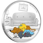 1 Dollar The Simpsons - Maggie Simpson Tuvalu 1 oz Silber PP 2019 **