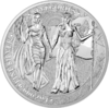 5 Mark The Allegories Columbia & Germania 1 oz Silber BU 2019