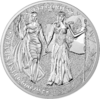 10 Mark The Allegories Germania & Columbia 2 oz Silber BU 2019 **