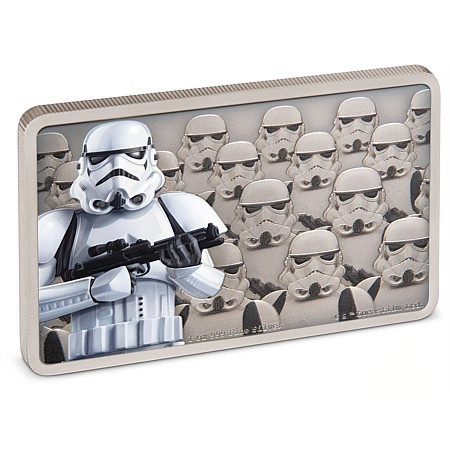 2 $ Dollar Star Wars - Guards of the Empire - Stormtrooper™ Niue Island 1 oz Silber PP 2020 **