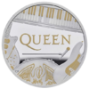 2 Pounds Pfund Music Legends - Queen Grossbritannien UK 1 oz Silber PP 2020