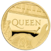 100 Pounds Pfund Music Legends - Queen Grossbritannien UK 1 oz Gold PP 2020