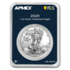 1 Dollar Silver American Eagle USA Apmex MintDirect® Premier + PCGS First Strike 1 oz Silber 2020 **