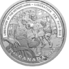 20 $ Dollar Second World War Battlefront - Liberation of Netherlands Kanada 1 oz Silber PP 2020 **