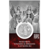 5 Mark Allegories - Germania & Columbia WMF World Money Fair Edition Berlin 1 oz Silber BU 2020 **