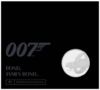 5 Pfund Pounds James Bond - 007 - Aston Martin DB5 Grossbritannien UK BU im Folder 2020
