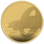 100 Pounds James Bond - 007 - Aston Martin DB5 Grossbritannien UK 1 oz Gold PP 2020