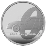5 Pounds Pfund James Bond - 007 - Aston Martin DB5 Grossbritannien UK 2 oz Silber PP 2020