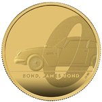 200 Pounds James Bond - 007 - Aston Martin DB5 Grossbritannien UK 2 oz Gold PP 2020
