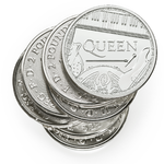 2 Pounds Pfund Music Legends - Queen Grossbritannien 1 oz Silber 2020