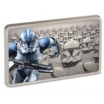 2 $ Dollar Star Wars - Guards of the Empire - Clone Trooper™ Niue Island 1 oz Silber PP 2020 **
