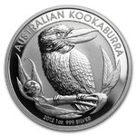 1 $ Dollar Kookaburra Australien Privy Mark Drache - Dragon 1 oz Silber 2012 **