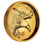 200 $ Dollar Wedge-Tailed Eagle Keilschwanzadler High Relief Australien 2 oz Gold PP 2020