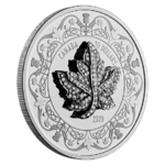30 $ Dollar Maple Leaf Brooch Legacy - Brosche Kanada 2 oz Silber PP 2020 **