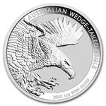 1 $ Dollar Wedge Tailed Eagle Keilschwanzadler Australien 1 oz Silber 2020 **