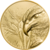 25000 Togrog Majestic Eagle - Adler High Relief Mongolei 1 oz Gold 2020