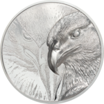 2000 Togrog Majestic Eagle - Adler High Relief Mongolei 3 oz Silber 2020 **