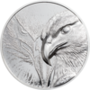 500 Togrog Majestic Eagle - Adler High Relief Mongolei 1 oz Silber 2020 **