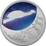 1 $ Dollar Star Dreaming - Emu in the Sky Australien 1/2 oz Silber 2020 **