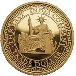 250 $ Dollar French Dragon Trade Dollar High Relief Niue Island 1 oz Gold PP 2020