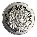 10 $ Dollar Roaring Lion - Löwe High Relief Niue Island 5 oz Silber 2020 **