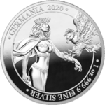 5 Mark Germania Silver Proof 1 oz Silber PP 2020 **