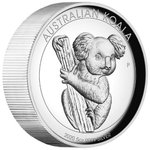 8 $ Dollar Koala High Relief Australien 5 oz Silber PP 2020 **