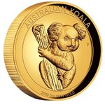 200 $ Dollar Koala High Relief Australien 2 oz Gold PP 2020