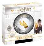 5 $ Dollar Harry Potter  - The Golden Snitch - Der goldene Schnatz Samoa 2 oz Silber + Gold 2020