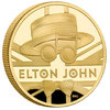 100 Pounds Pfund Music Legends - Elton John Grossbritannien UK 1 oz Gold PP 2020