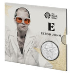 5 Pounds Pfund Music Legends - Elton John Grossbritannien UK BU im Folder 2020