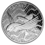 5 $ Dollar Flying Fish - Fliegende Fische - Hahave - Tokelau 1 oz Silber 2020 **