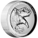 8 $ Dollar Wedge-Tailed Eagle Keilschwanzadler Incused High Relief Australien 5 oz Silber PP 2020 **