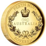 50 $ Dollar Australian Sovereign High Relief Piedfort Australien Gold PP 2020