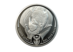 20 Rand BIG FIVE - Rhino - Nashorn Südafrika South Africa 1 oz Platin Platinum PP 2020