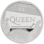 10 Pounds Pfund Music Legends - Queen Grossbritannien UK 5 oz Silber PP 2020