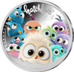 The Angry Birds™ Hatchlings Silver Plated - versilbert PP 2020