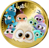 The Angry Birds™ Hatchlings Gold Plated - vergoldet PP 2020