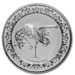 2 $ Dollar Feng Shui - Celestial Animals - The Red Phoenix Niue Island 1 oz Silber 2020 **
