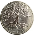 10 $ Dollar Tree of Life - Baum des Lebens High Relief Niue Island 5 oz Silber 2020 **