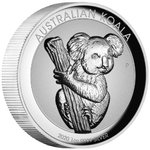 1 $ Dollar Koala Incused High Relief Australien 1 oz Silber PP 2020 **
