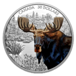 30 $ Dollar Imposing Icons Series: Moose - Elch Kanada 2 oz Silber PP 2020 **