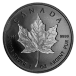 20 $ Dollar Double Incuse Maple Leaf Kanada 1 oz Silber + Rhodium PP 2020 **