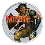 1 $ Dollar Marvel Series - Wolverine Silver Proof Fiji 1 oz Silber PP 2020 **